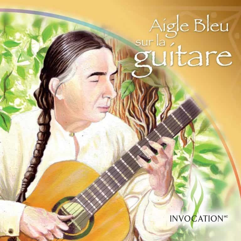 Aigle Bleu sur la guitare - Album CD