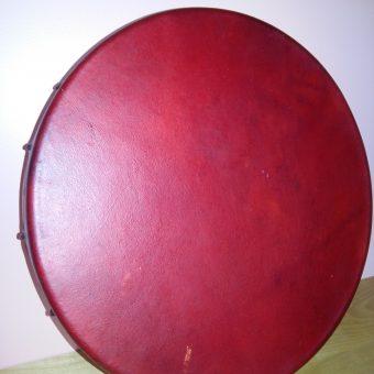 Tambour rouge en wapiti