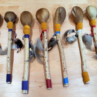 machikoue maracas hochet 2021 artisanat amerindien