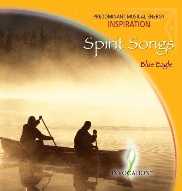 CD spirit songs Aigle Bleu