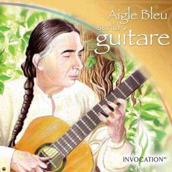 CD Aigle Bleu sur la guitare