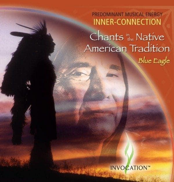 CD Chants de Tradition Amérindienne Aigle Bleu