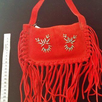 33 sac a main petit rouge