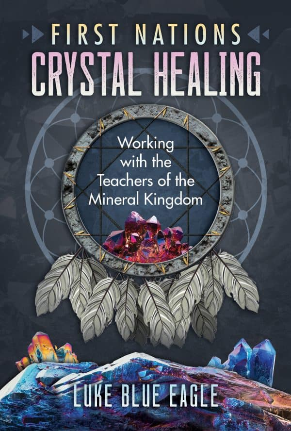 Crystal Healing book Blue Eagle scaled